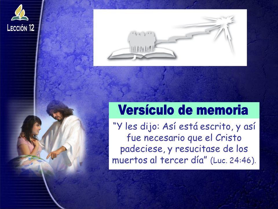 Versículo de memoria