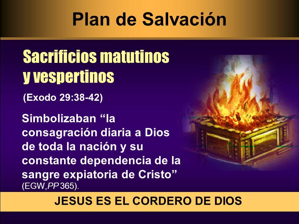 JESUS ES EL CORDERO DE DIOS