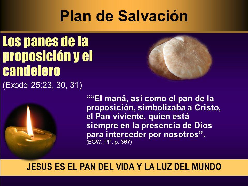 JESUS ES EL PAN DEL VIDA Y LA LUZ DEL MUNDO