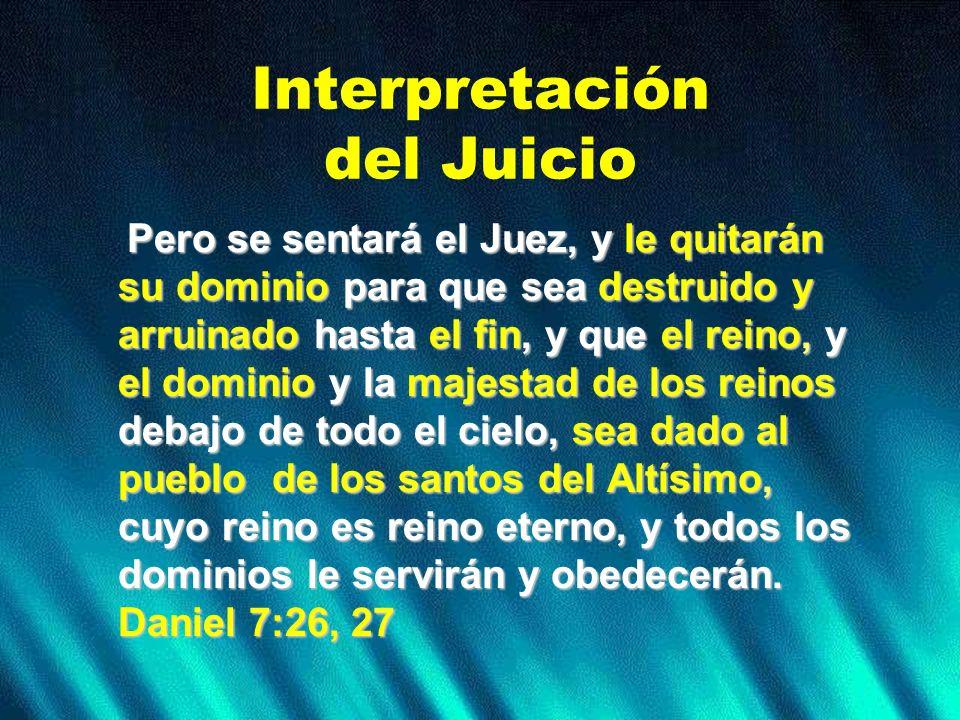 Interpretación del Juicio