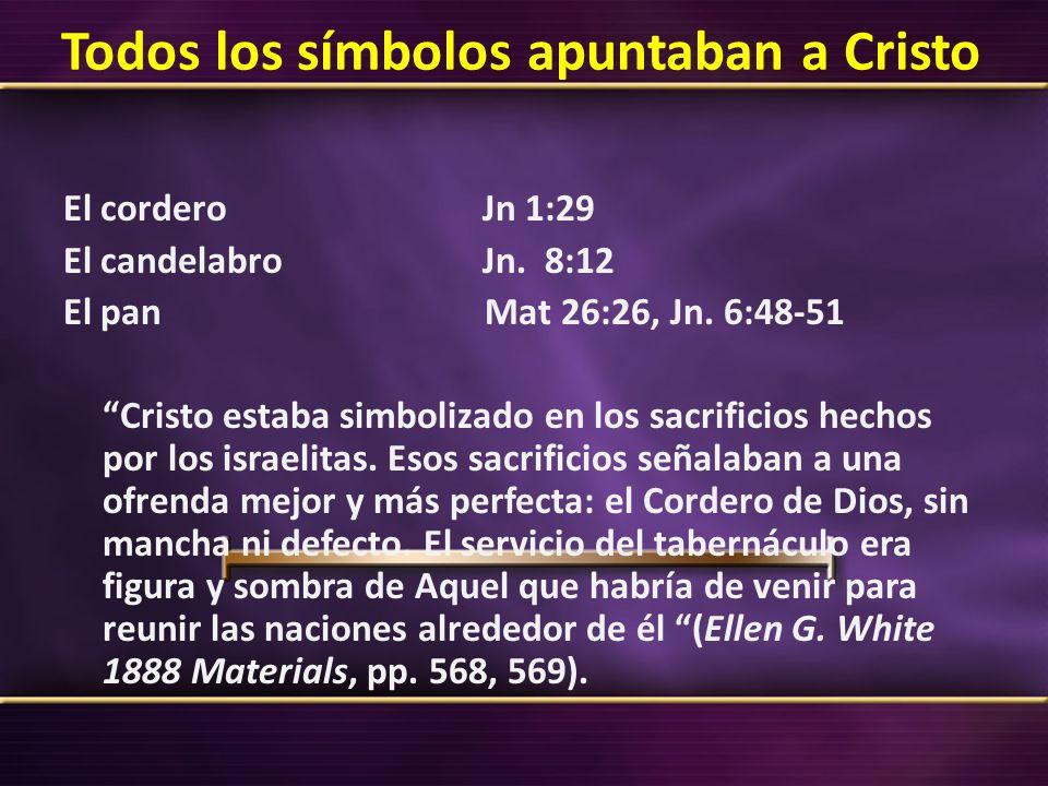 Todos los símbolos apuntaban a Cristo