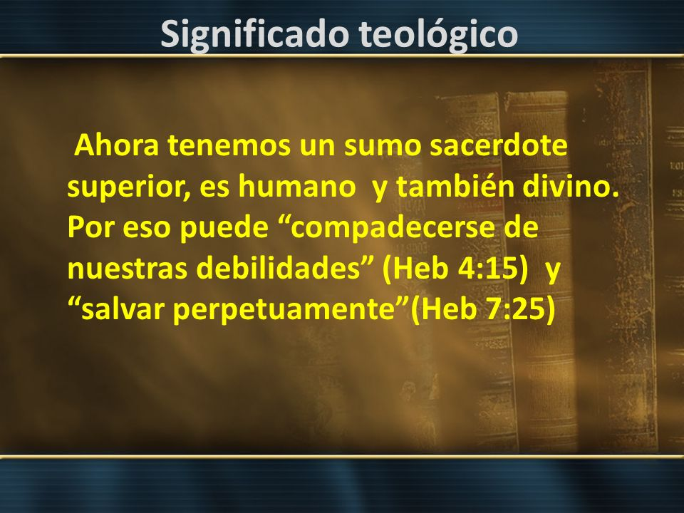 Significado teológico