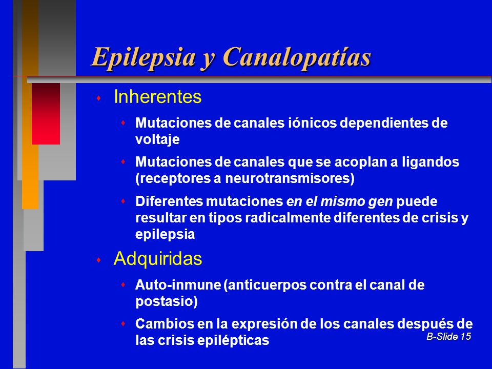 Epilepsia y Canalopatías