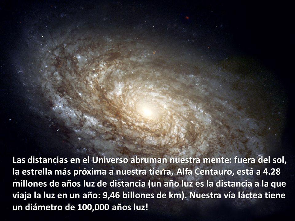 Las distancias en el Universo abruman nuestra mente: fuera del sol,