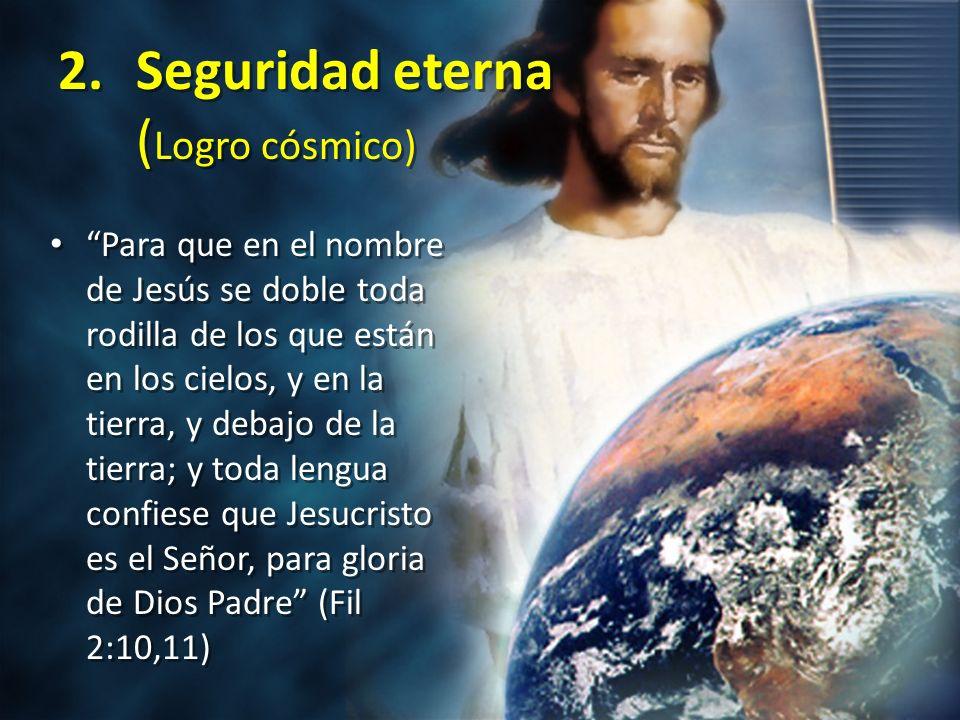 Seguridad eterna (Logro cósmico)