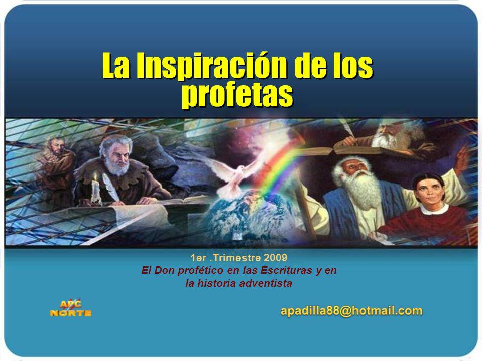 La Inspiración de los profetas