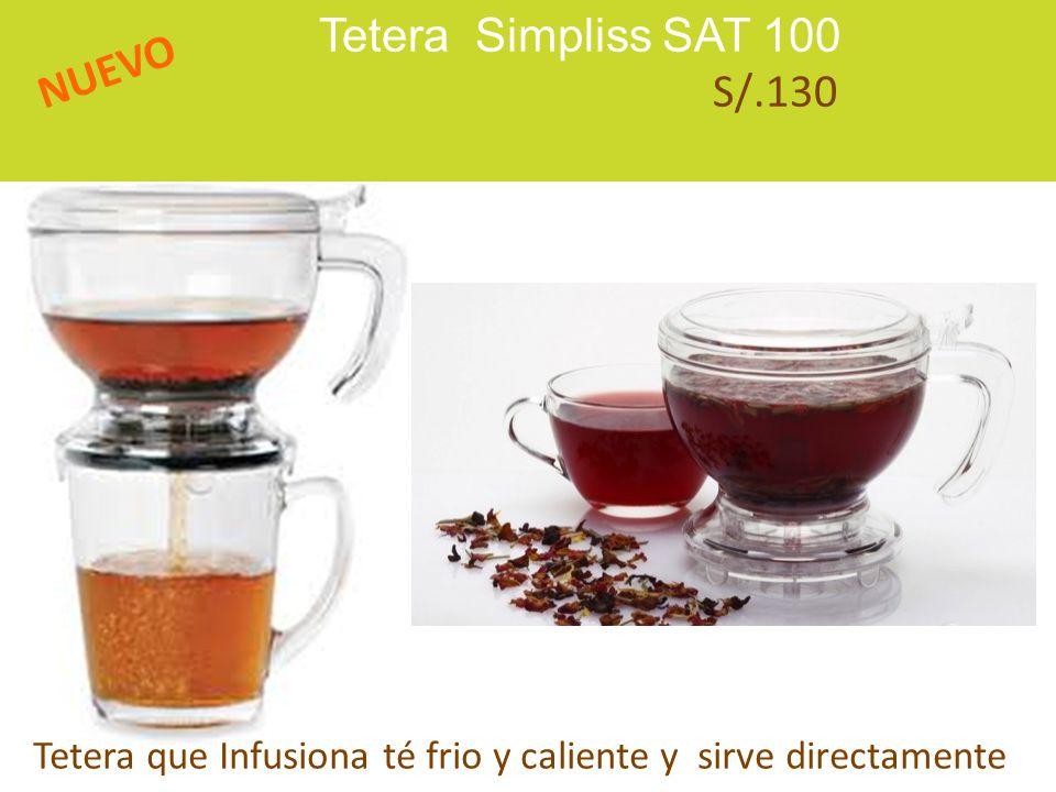 Tetera Simpliss SAT 100 S/.130 NUEVO