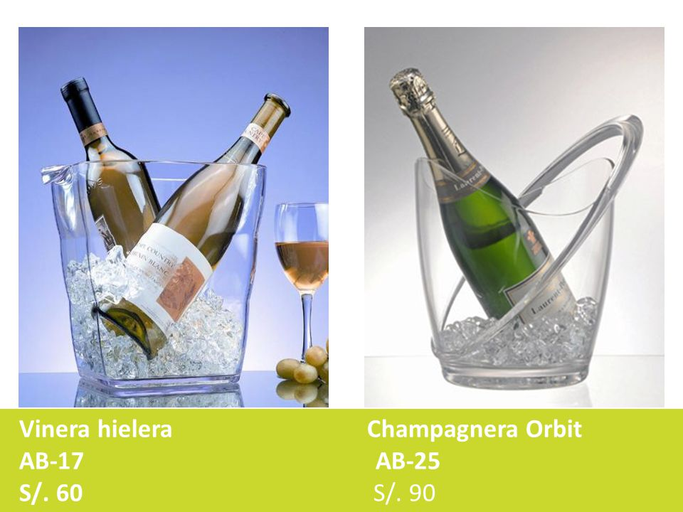 Vinera hielera Champagnera Orbit