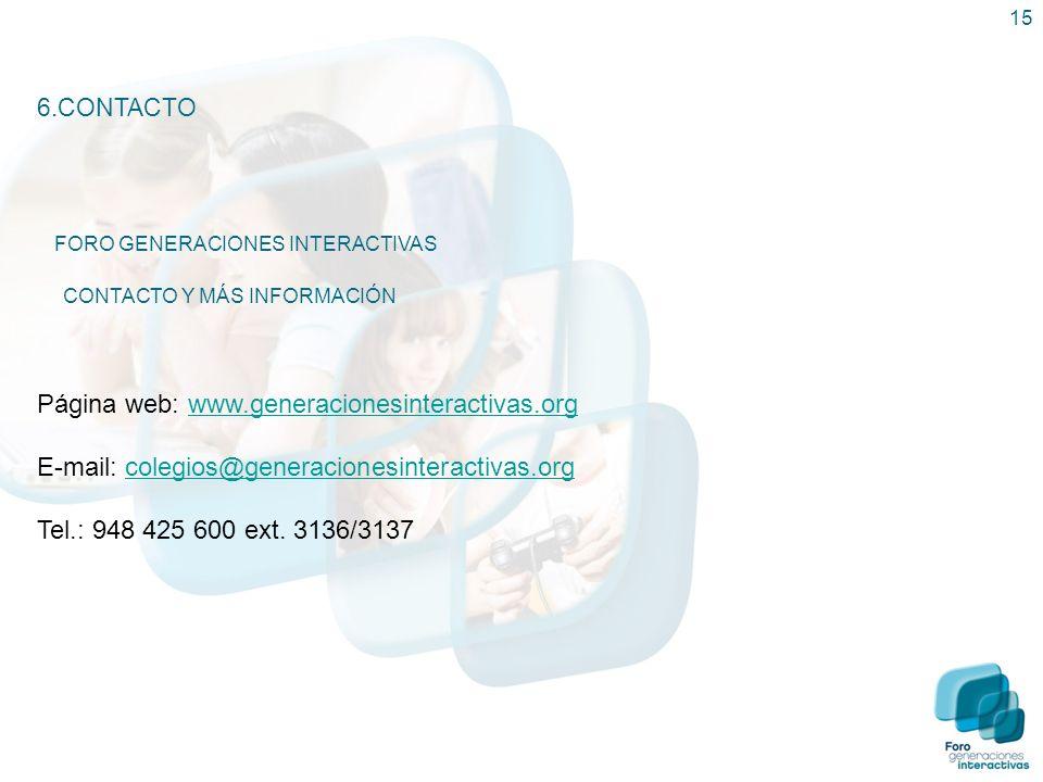 E-mail: colegios@generacionesinteractivas.org