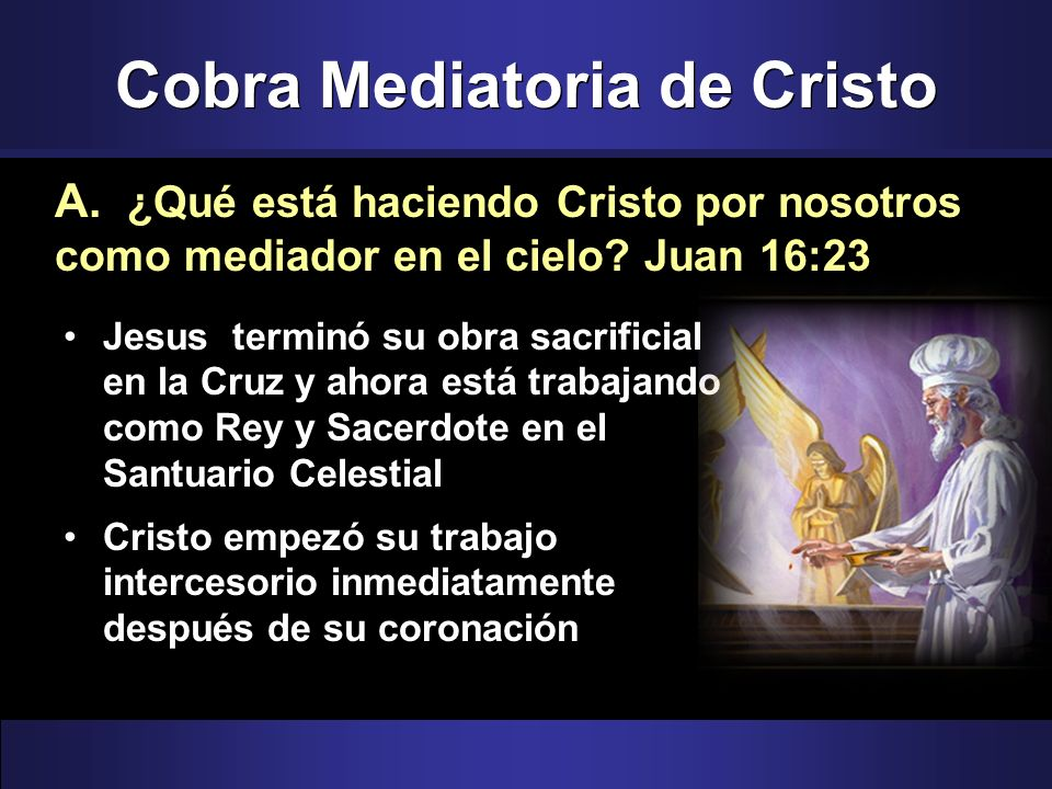 Cobra Mediatoria de Cristo