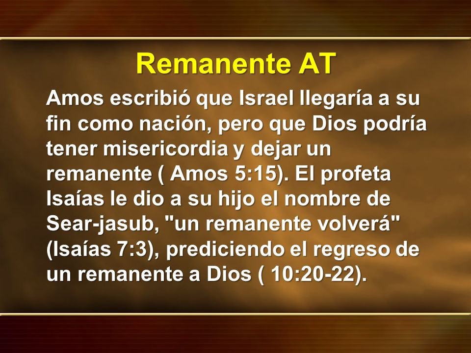 Remanente AT