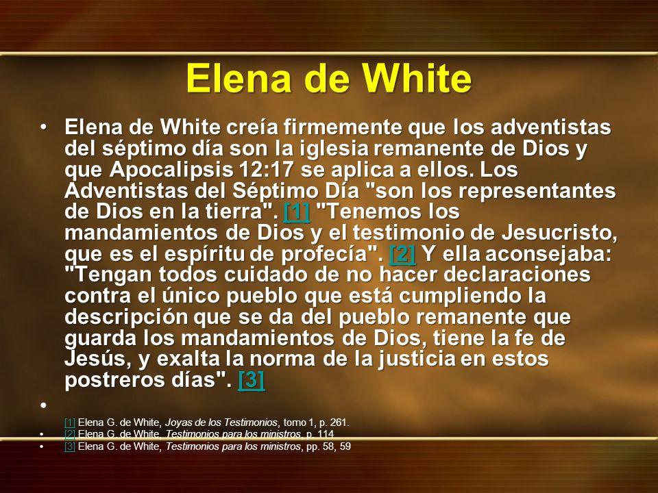 Elena de White