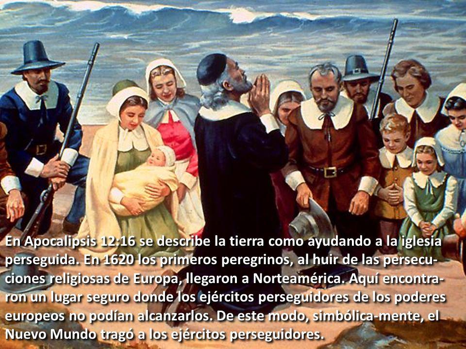 En Apocalipsis 12:16 se describe la tierra como ayudando a la iglesia perseguida.