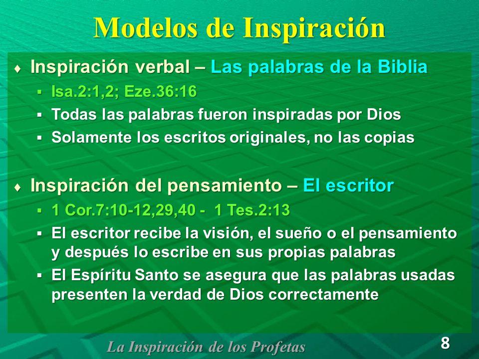 Modelos de Inspiración