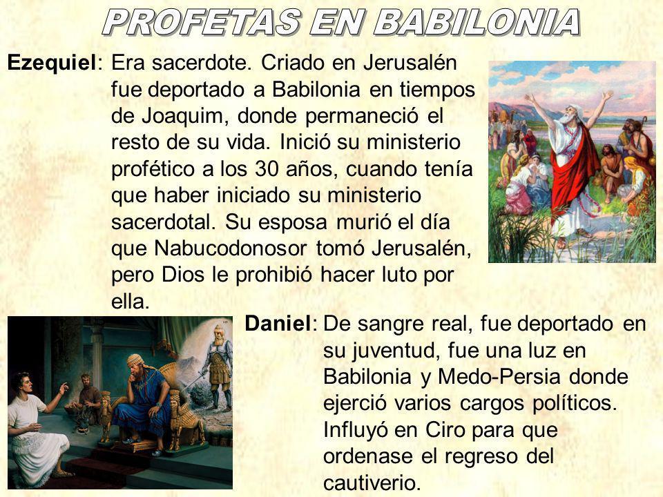PROFETAS EN BABILONIA