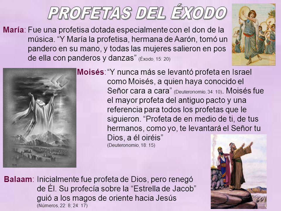 PROFETAS DEL ÉXODO