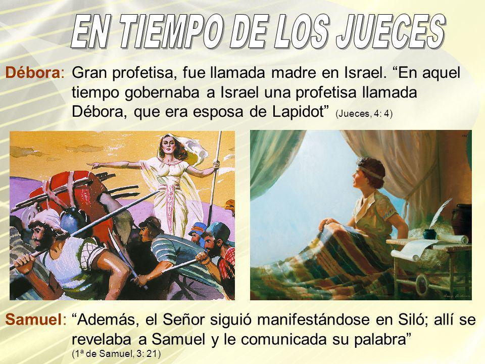 EN TIEMPO DE LOS JUECES