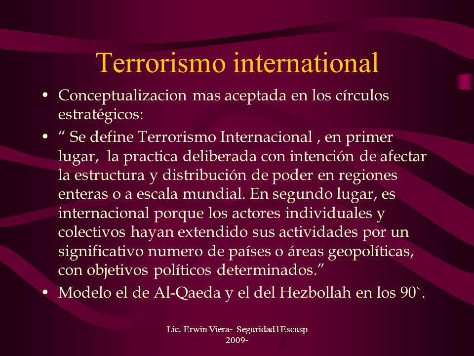 Terrorismo international