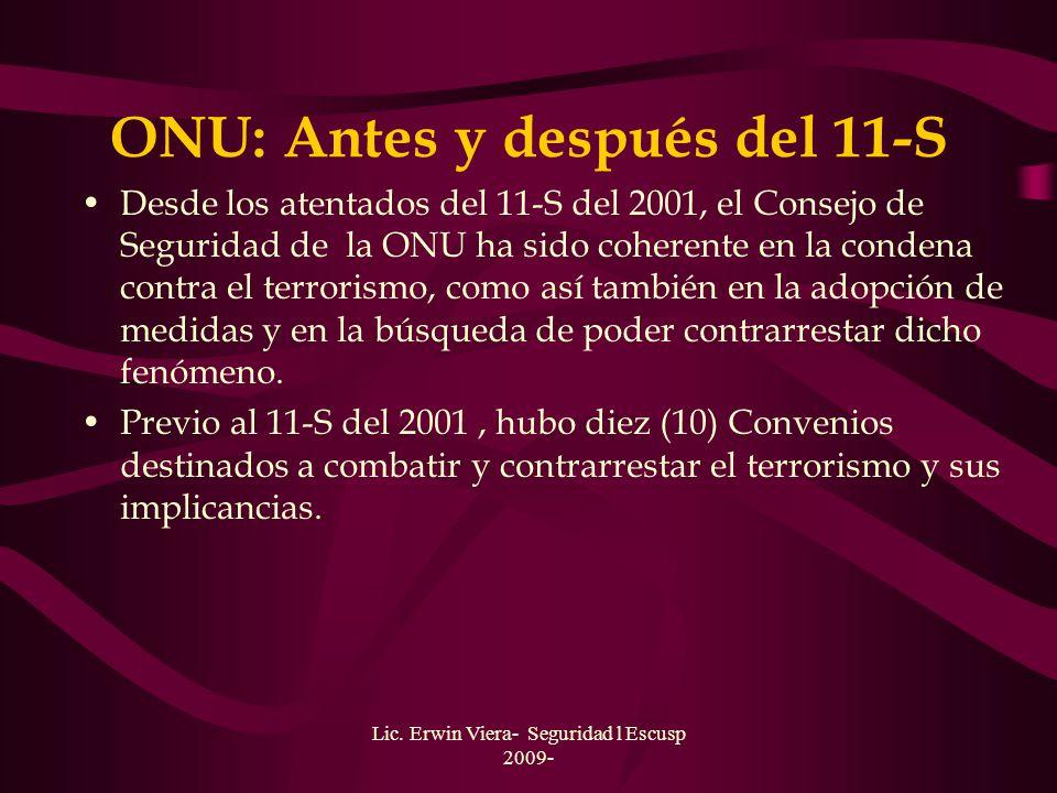 ONU: Antes y después del 11-S
