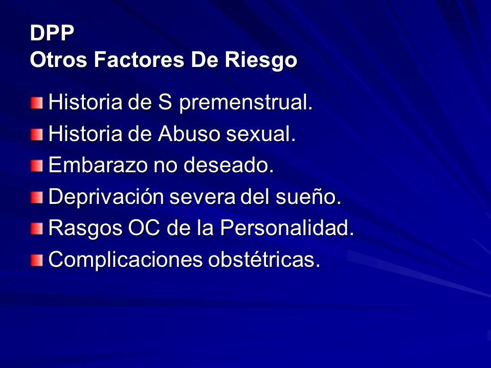 DPP Otros Factores De Riesgo