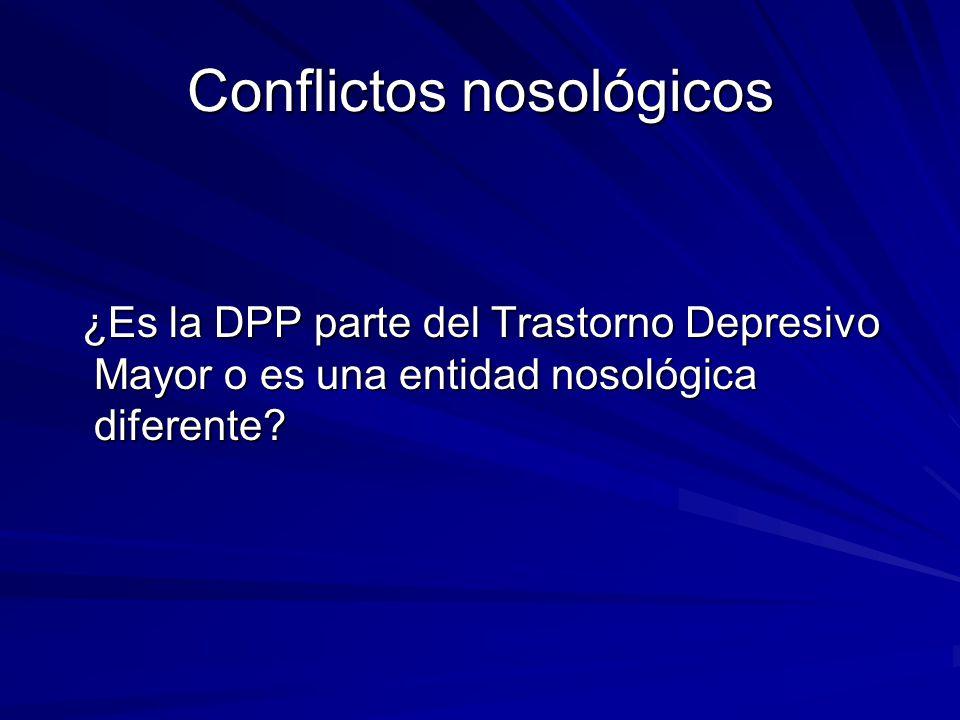 Conflictos nosológicos