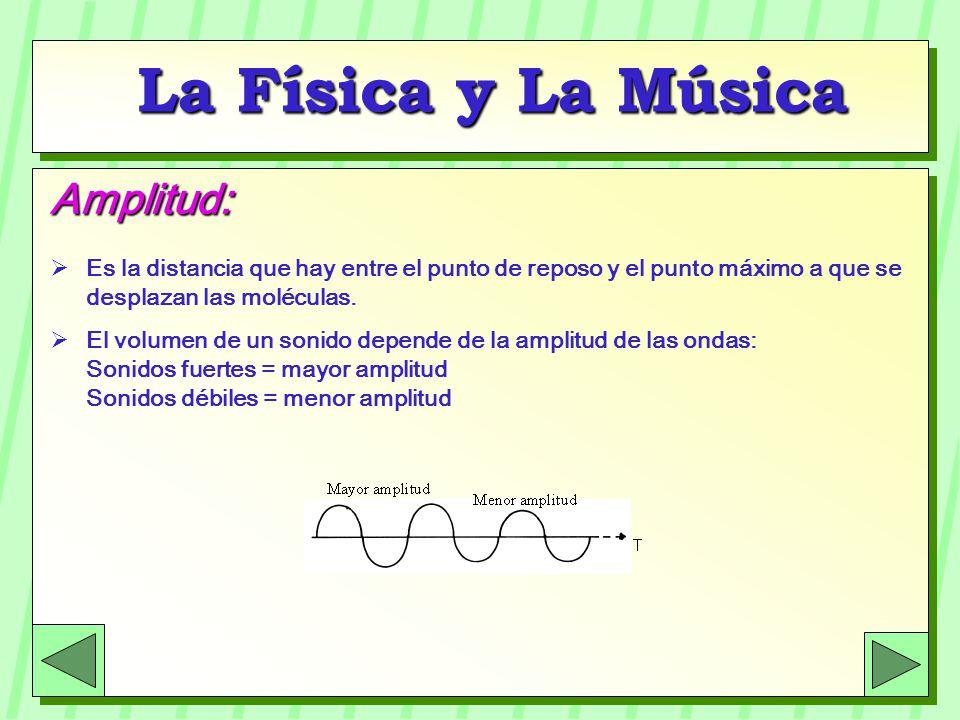 La Física y La Música Amplitud: