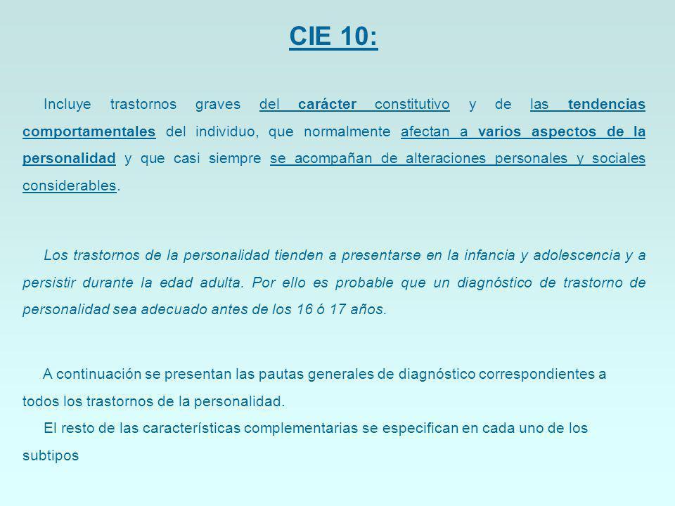 CIE 10:
