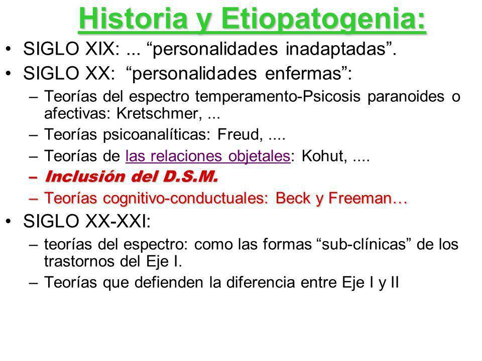 Historia y Etiopatogenia: