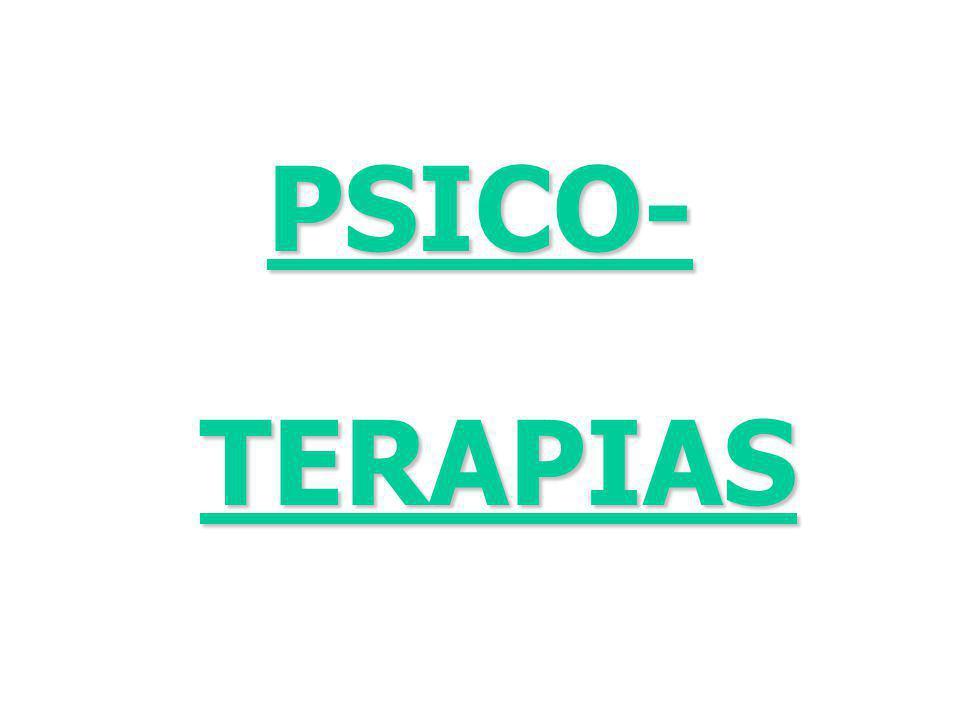 PSICO-TERAPIAS
