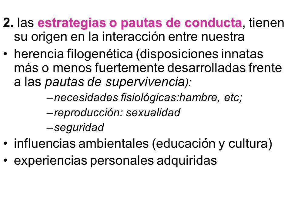 influencias ambientales (educación y cultura)