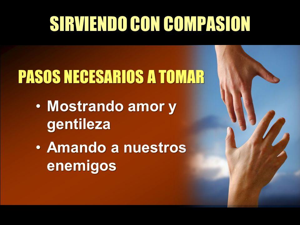 SIRVIENDO CON COMPASION