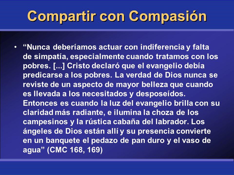 Compartir con Compasión