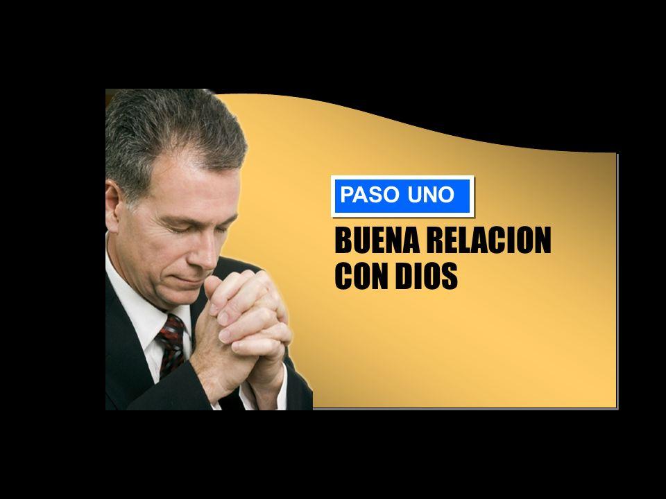 BUENA RELACION CON DIOS