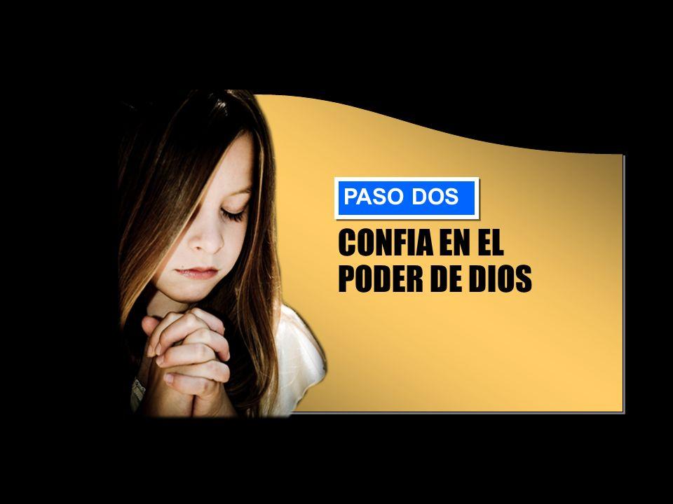 CONFIA EN EL PODER DE DIOS