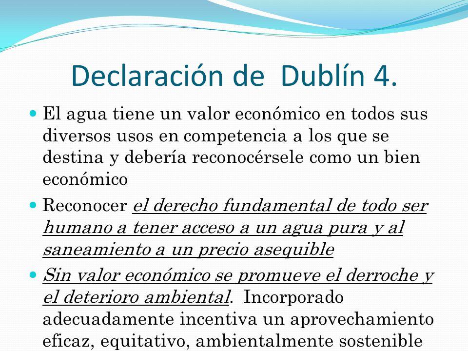 Declaración de Dublín 4.