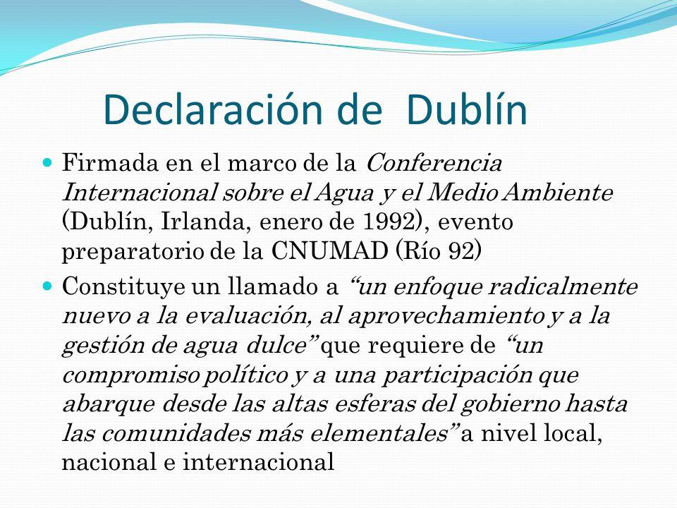 Declaración de Dublín