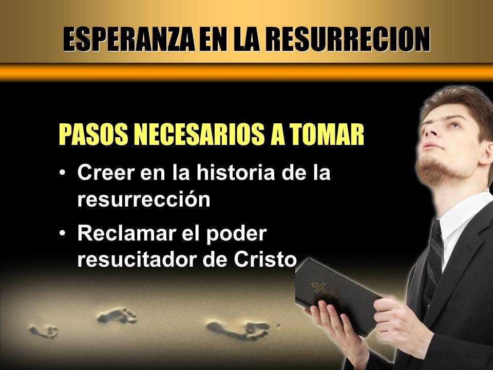 ESPERANZA EN LA RESURRECION