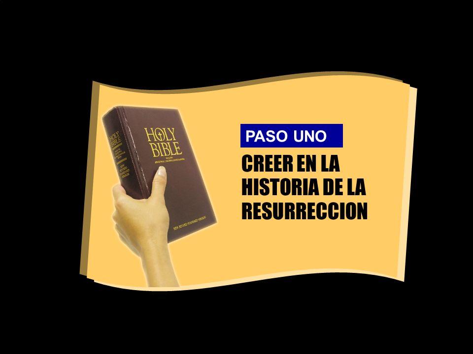 CREER EN LA HISTORIA DE LA RESURRECCION
