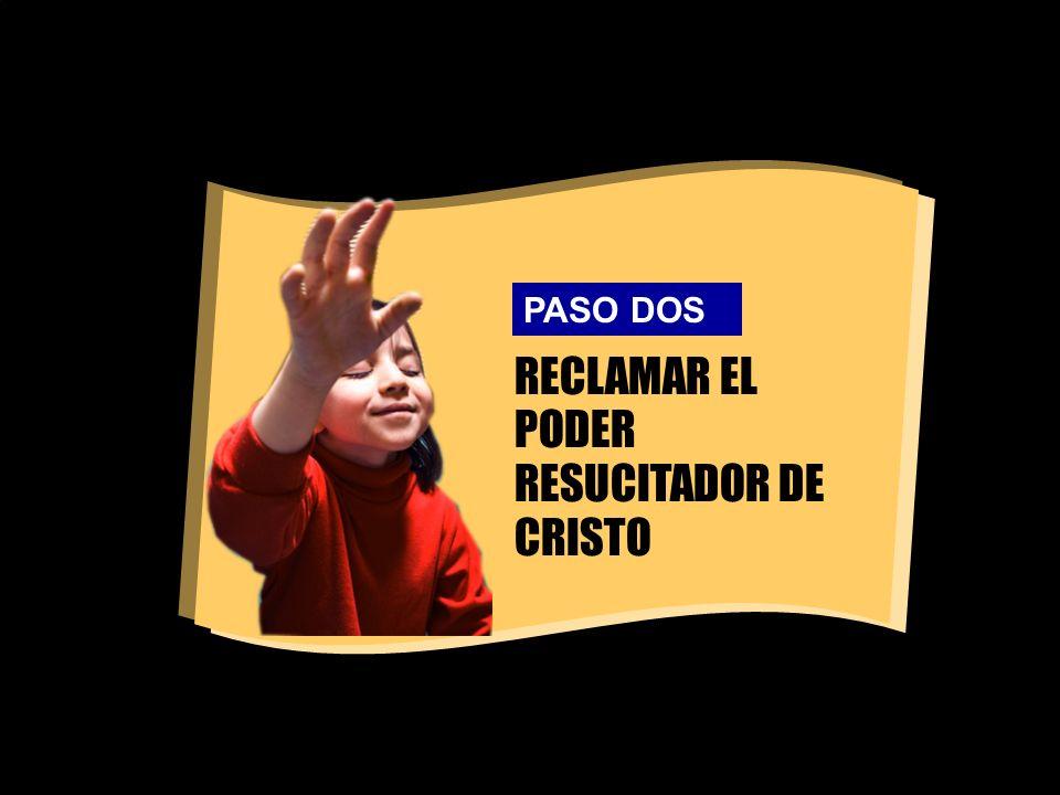 RECLAMAR EL PODER RESUCITADOR DE CRISTO