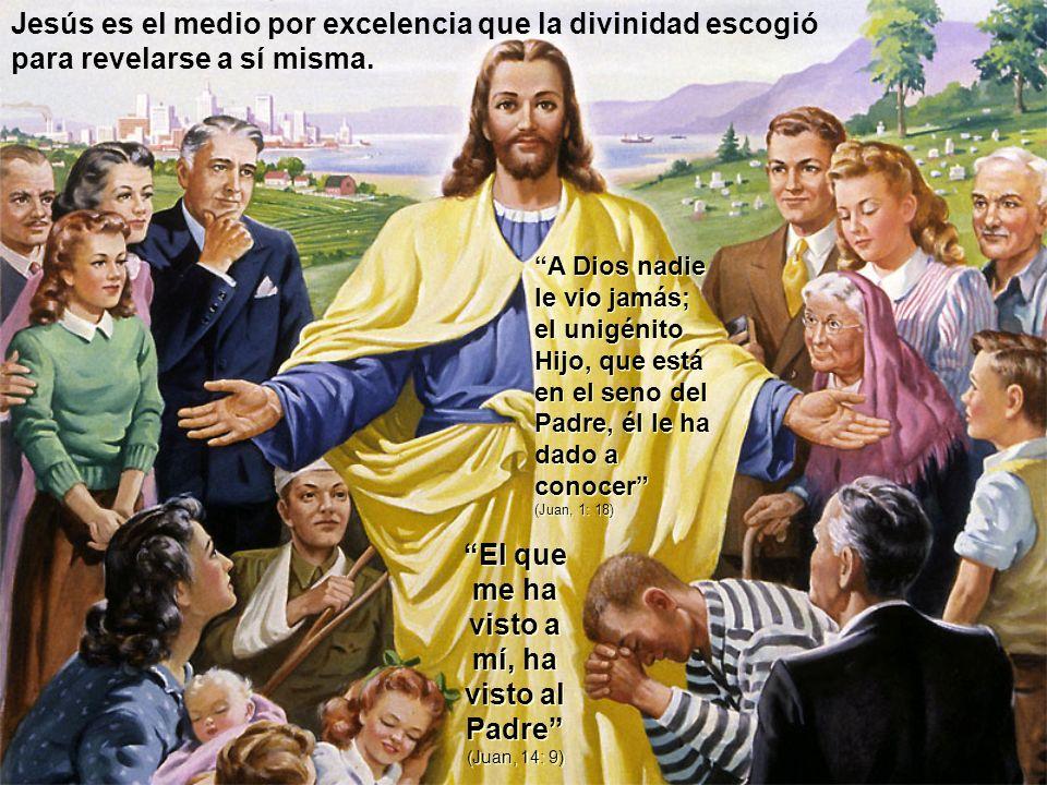 El que me ha visto a mí, ha visto al Padre (Juan, 14: 9)