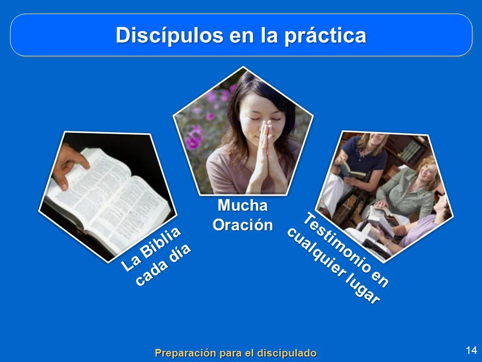 Discípulos en la práctica