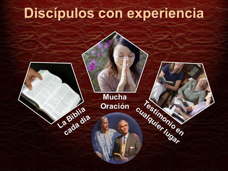 Discípulos con experiencia