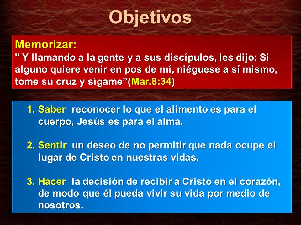 ObjetivosMemorizar: