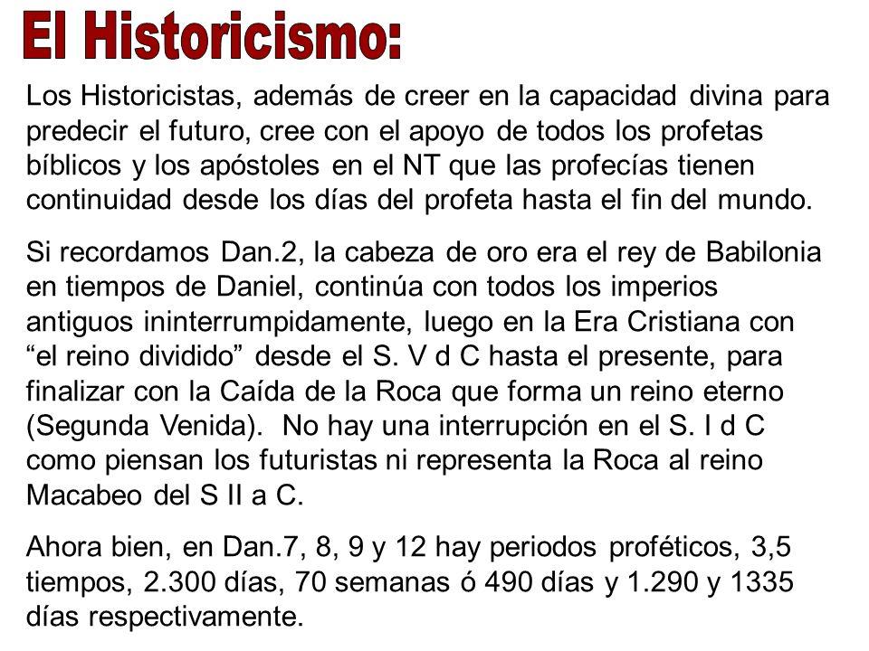 El Historicismo: