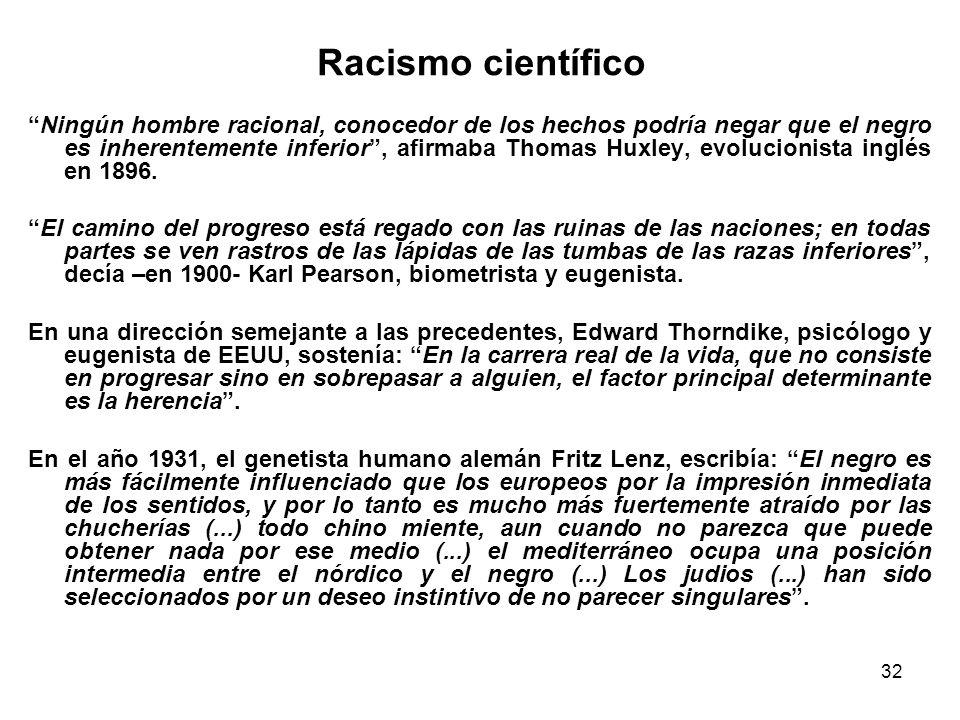 Racismo científico