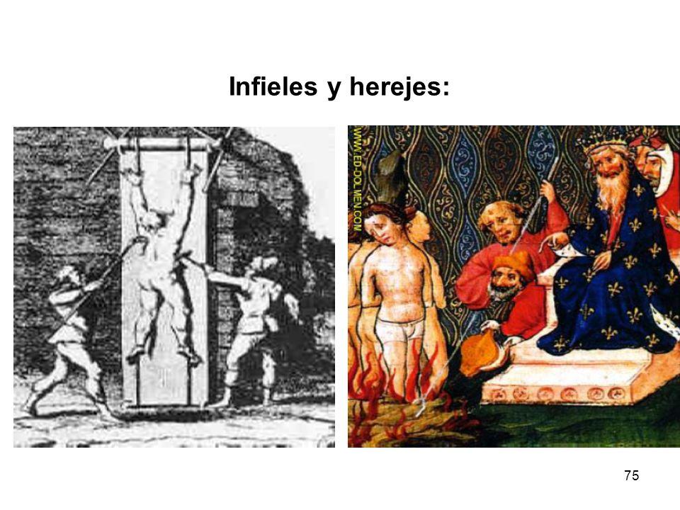 Infieles y herejes: