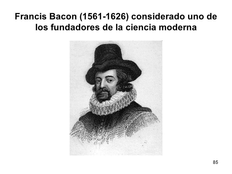 Francis Bacon (1561-1626) considerado uno de los fundadores de la ciencia moderna