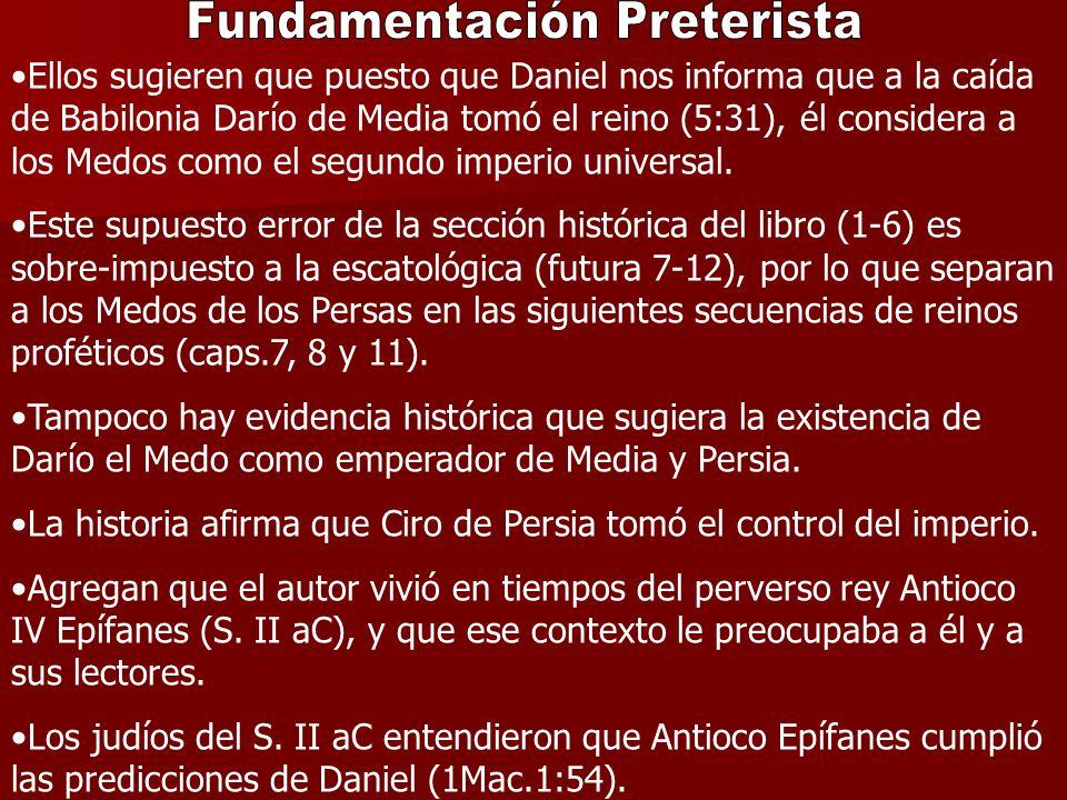 Fundamentación Preterista