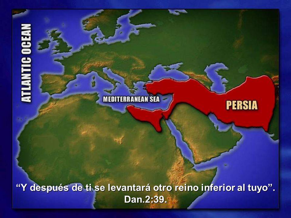 Y después de ti se levantará otro reino inferior al tuyo . Dan.2:39.