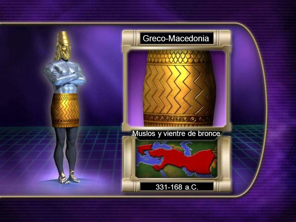 Greco-Macedonia Muslos y vientre de bronce 331-168 a.C.